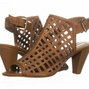 Tahari Evalyn Caged Sling-back Heels